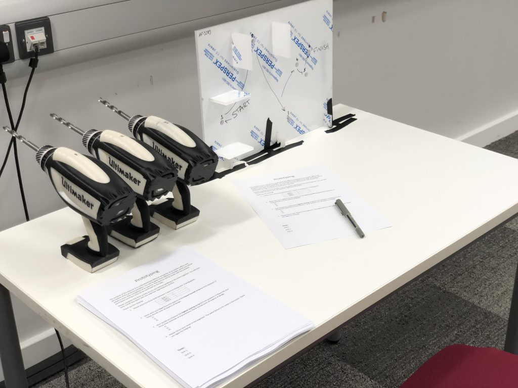 Image showing the study set-up.